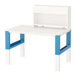 PÅHL - desk with add-on unit, white/blue | IKEA Hong Kong and Macau - PE558650_S3
