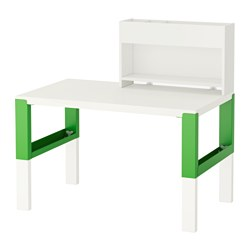 PÅHL - desk with add-on unit, white/green | IKEA Hong Kong and Macau - PE558652_S3