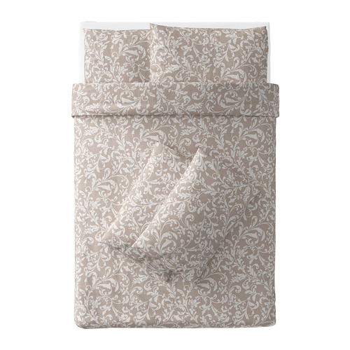 VÅRBRÄCKA - 被套枕袋套裝, 200x200/50x80 cm  | IKEA 香港及澳門 - PE672546_S4