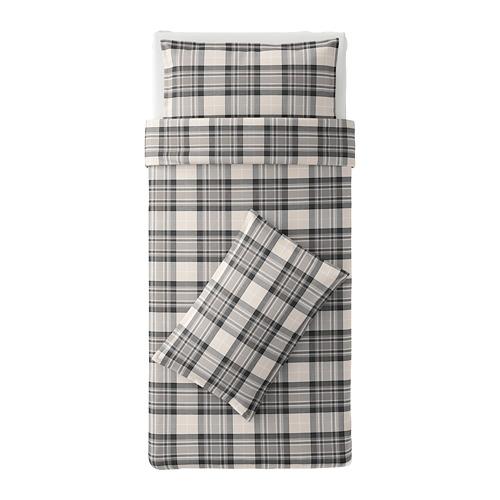 SMALRUTA - Quilt cover and 2 pillowcases, 150x200/50x80 cm  | IKEA Hong Kong and Macau - PE674760_S4