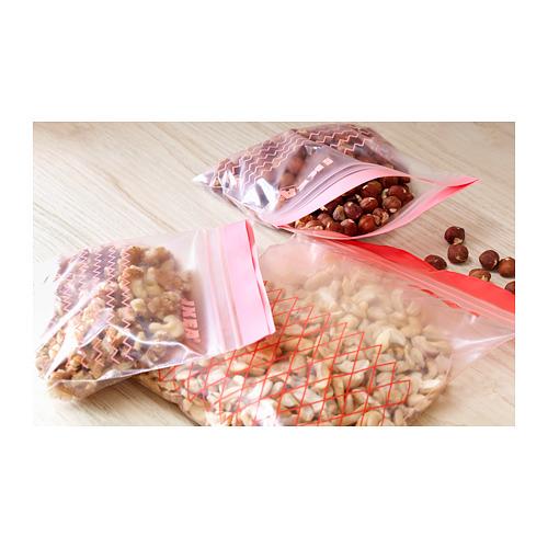 ISTAD - resealable bag, red | IKEA Hong Kong and Macau - PH143758_S4