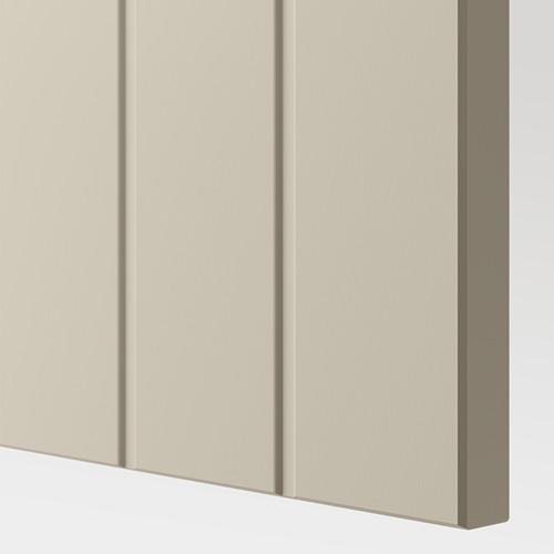 BESTÅ - TV bench, white/Sutterviken/Kabbarp grey-beige | IKEA 香港及澳門 - PE781952_S4