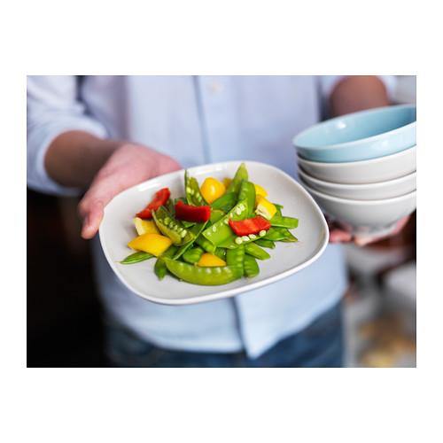 VÄRDERA - side plate, white, 18cm | IKEA Hong Kong and Macau - PE316823_S4