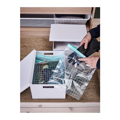 ISTAD - resealable bag, turquoise/light turquoise | IKEA Hong Kong and Macau - PH141931_S4