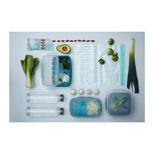 ISTAD - resealable bag, turquoise/light turquoise | IKEA Hong Kong and Macau - PH145426_S4