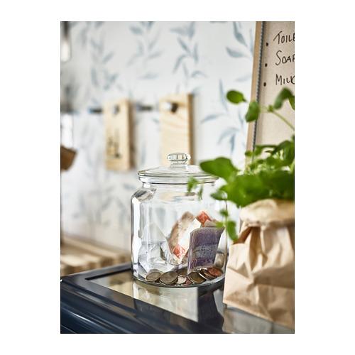 VARDAGEN - 連蓋瓶, 透明玻璃 | IKEA 香港及澳門 - PH145383_S4