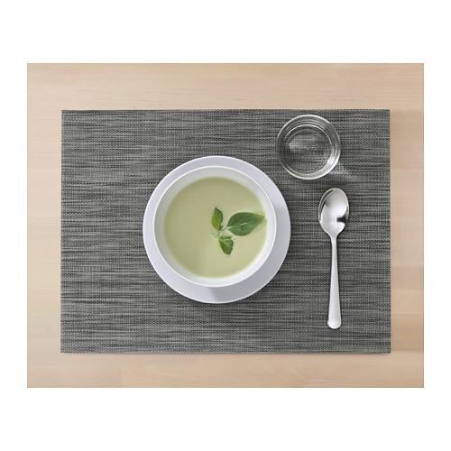 SNOBBIG - 餐墊, 深灰色 | IKEA 香港及澳門 - PH152855_S4