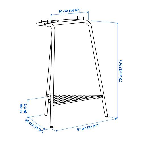 TILLSLAG - trestle, dark blue metal   IKEA Hong Kong and Macau - PE816655_S4