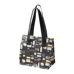 FLADDRIG - 餐盒袋, 圖案 灰色 | IKEA 香港及澳門 - PE816684_S3