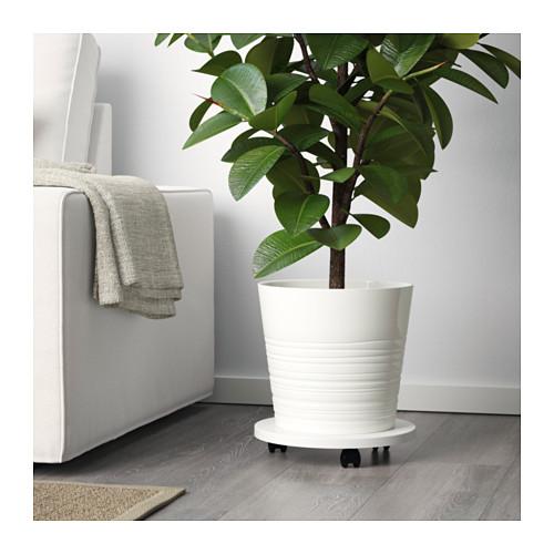 MUSKOT - plant pot, white   IKEA Hong Kong and Macau - PE621575_S4