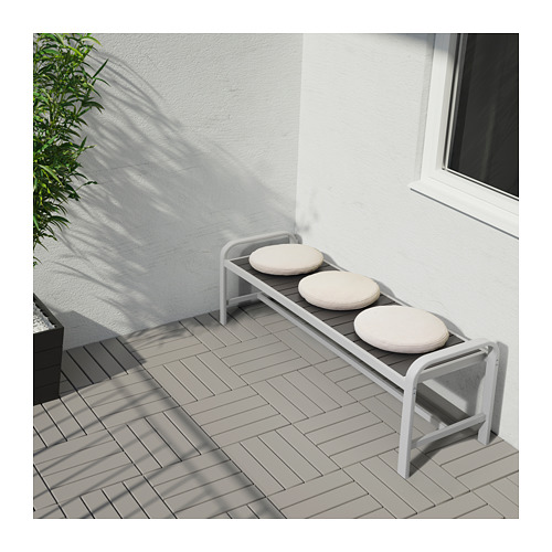 FRÖSÖN/DUVHOLMEN - chair cushion, outdoor, beige | IKEA Hong Kong and Macau - PE671820_S4
