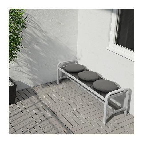 FRÖSÖN/DUVHOLMEN - chair cushion, outdoor, dark grey | IKEA Hong Kong and Macau - PE671822_S4