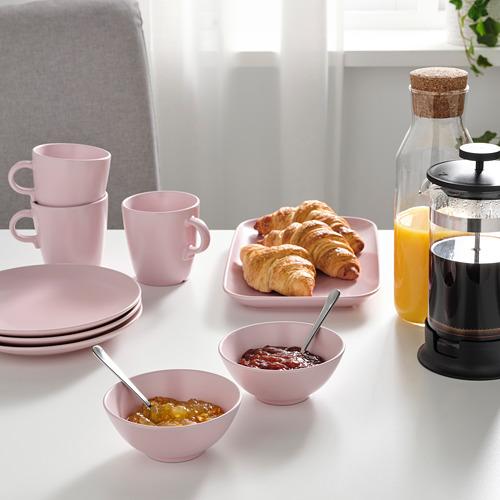 FÄRGKLAR - 碗, 啞面 淺粉紅色 | IKEA 香港及澳門 - PE816845_S4
