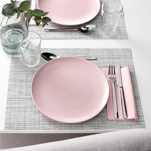 FÄRGKLAR - plate, matt light pink | IKEA Hong Kong and Macau - PE816912_S4