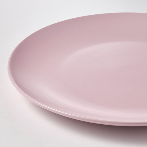 FÄRGKLAR - plate, matt light pink | IKEA Hong Kong and Macau - PE816911_S4