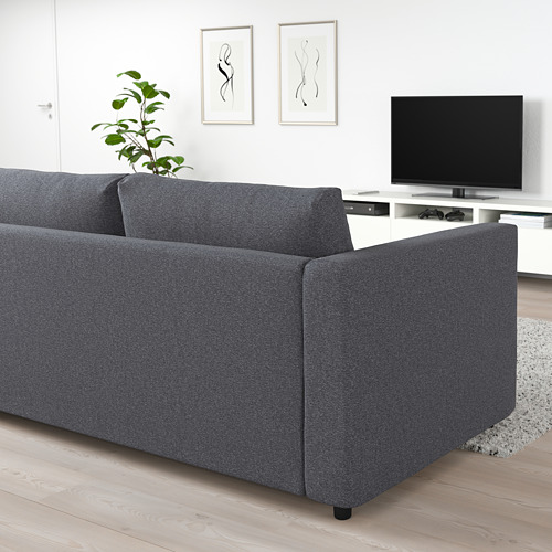 VIMLE - 2-seat sofa-bed, Gunnared medium grey | IKEA Hong Kong and Macau - PE721533_S4