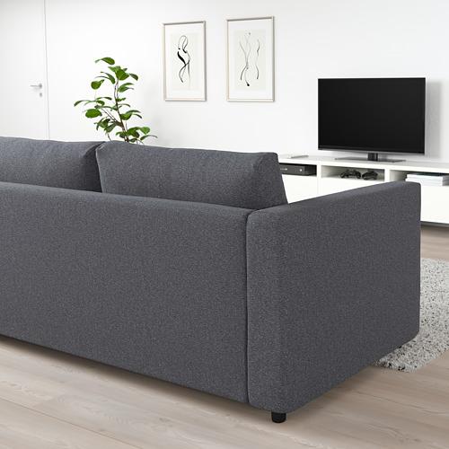 VIMLE - 3-seat sofa, Gunnared medium grey | IKEA Hong Kong and Macau - PE721533_S4