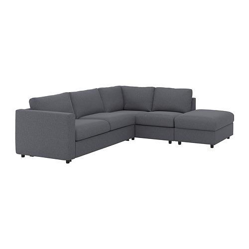 VIMLE 4座位角位梳化床布套