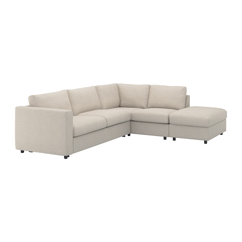 VIMLE cover for corner sofa-bed, 4-seat