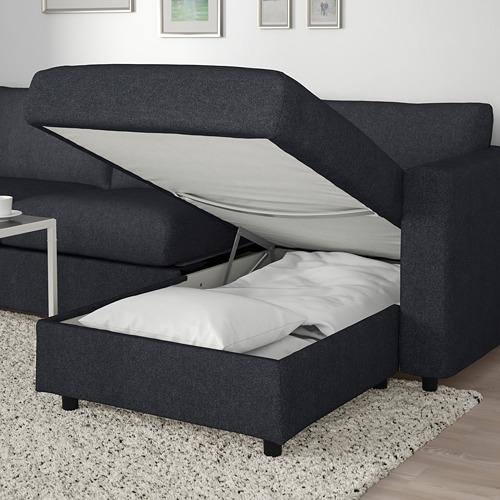 VIMLE 5座位角位梳化床