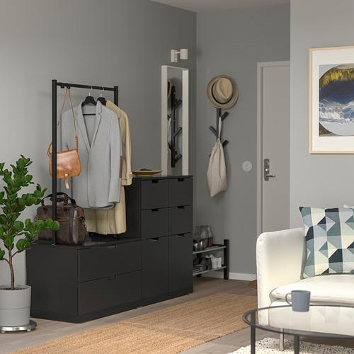 NORDLI - 八格抽屜櫃, 炭黑色 | IKEA 香港及澳門 - PE765412_S4