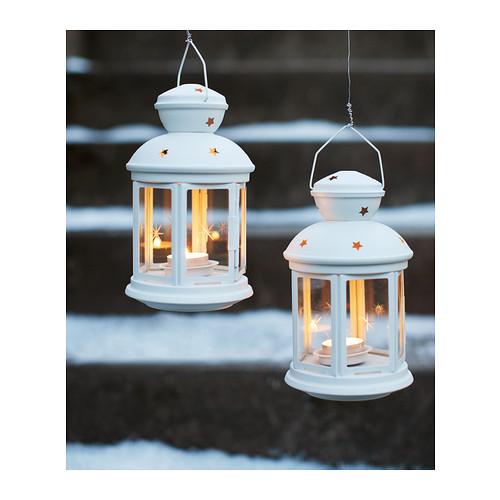 ROTERA - 小蠟燭燈座, 室內/戶外用 白色   IKEA 香港及澳門 - PE331579_S4