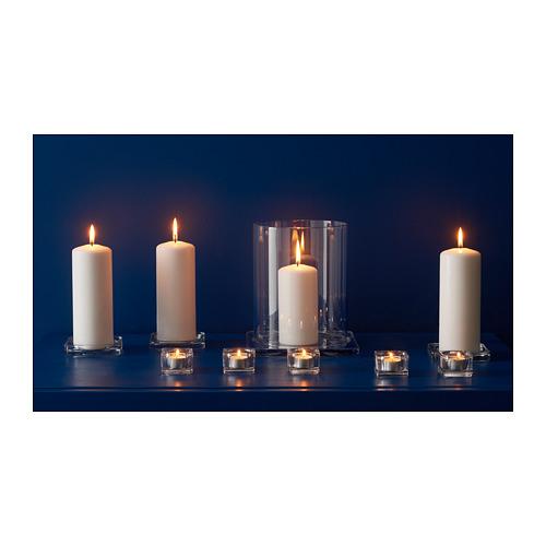 GLASIG - 蠟燭碟, 透明玻璃 | IKEA 香港及澳門 - PH148183_S4