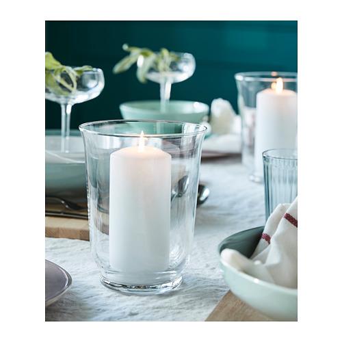 POMP - 花瓶/燭燈, 透明玻璃 | IKEA 香港及澳門 - PH152375_S4