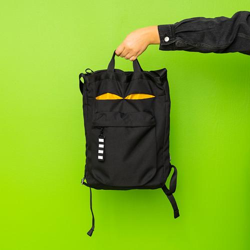VÄRLDENS - travel tote bag, 16 l, black | IKEA Hong Kong and Macau - PE817192_S4