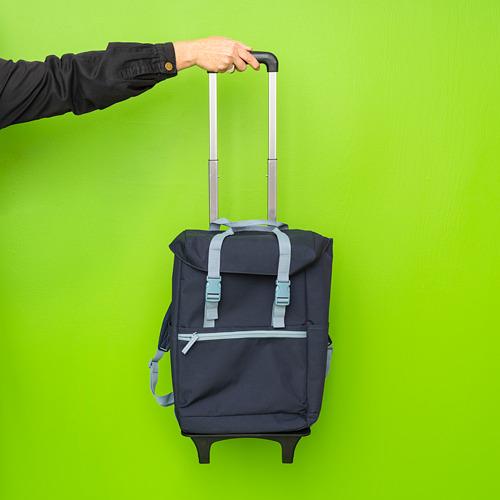 STARTTID - backpack on wheels, 19 l, blue | IKEA Hong Kong and Macau - PE817197_S4
