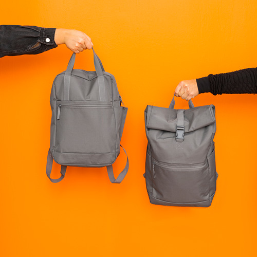 STARTTID - 背囊, 12 l, 灰色 | IKEA 香港及澳門 - PE817198_S4