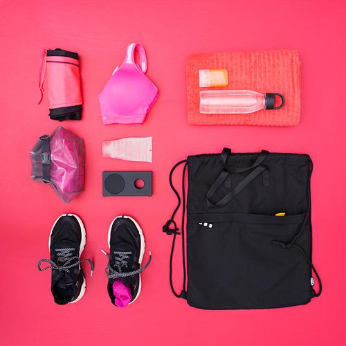 VÄRLDENS - gym bag, black | IKEA Hong Kong and Macau - PE817251_S4