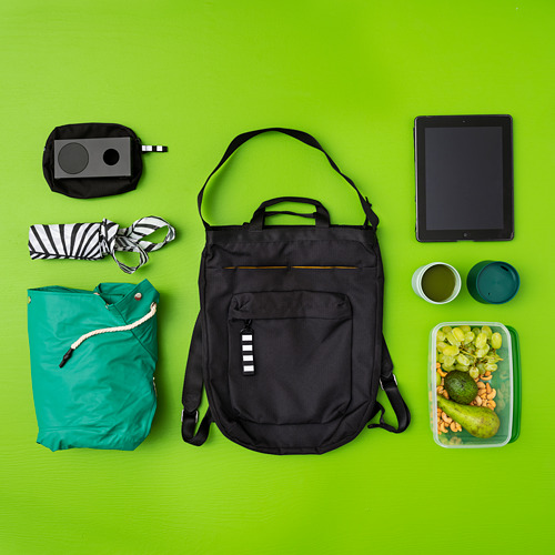 VÄRLDENS - travel tote bag, 16 l, black | IKEA Hong Kong and Macau - PE817268_S4