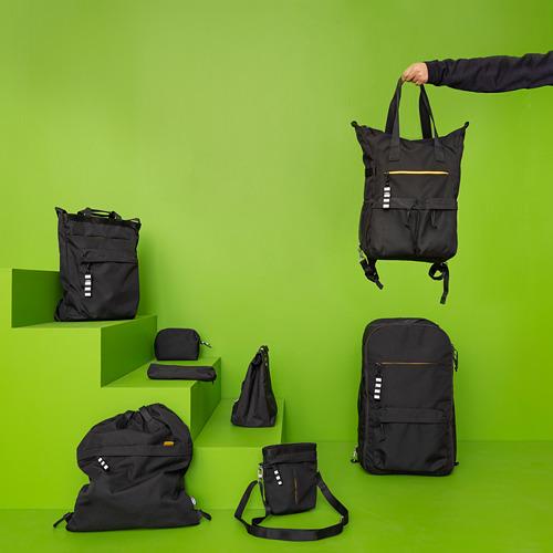 VÄRLDENS - 旅行用手提袋, 16 l, 黑色  | IKEA 香港及澳門 - PE817297_S4