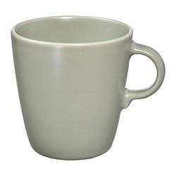 FÄRGKLAR - 杯, 啞面 綠色 | IKEA 香港及澳門 - PE817319_S3
