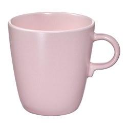 FÄRGKLAR - 杯, 啞面 淺粉紅色 | IKEA 香港及澳門 - PE817323_S3