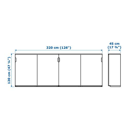 GALANT - storage combination w sliding doors, white | IKEA Hong Kong and Macau - PE721842_S4