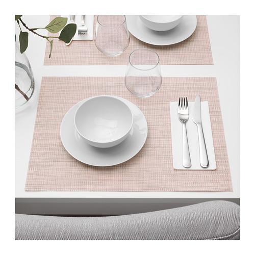 SNOBBIG - 餐墊, 淺粉紅色   IKEA 香港及澳門 - PE672367_S4