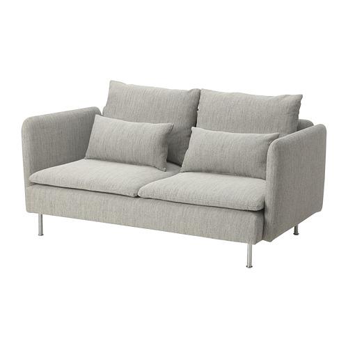 SÖDERHAMN - 小型三座位梳化, Viarp 米黃色/褐色   IKEA 香港及澳門 - PE817433_S4