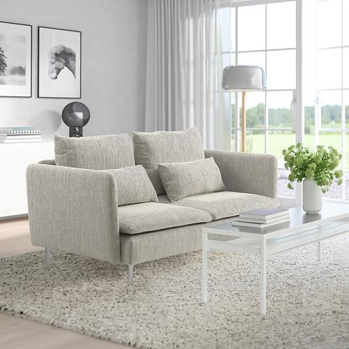 SÖDERHAMN - 小型三座位梳化, Viarp 米黃色/褐色   IKEA 香港及澳門 - PE817435_S4