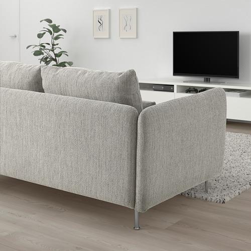 SÖDERHAMN - 小型三座位梳化, Viarp 米黃色/褐色   IKEA 香港及澳門 - PE817434_S4