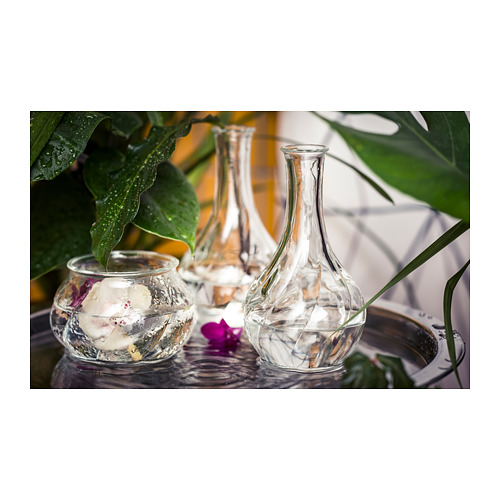 VILJESTARK - 花瓶, 透明玻璃 | IKEA 香港及澳門 - PH141431_S4