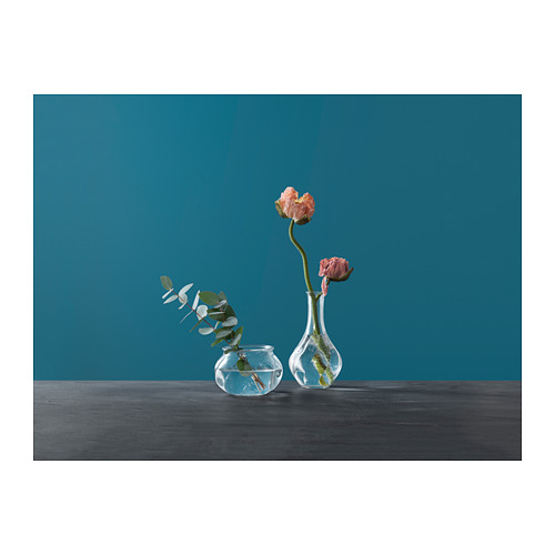 VILJESTARK - 花瓶, 透明玻璃 | IKEA 香港及澳門 - PH142792_S4