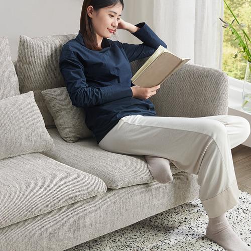 SÖDERHAMN - 小型三座位梳化, Viarp 米黃色/褐色   IKEA 香港及澳門 - PE817436_S4