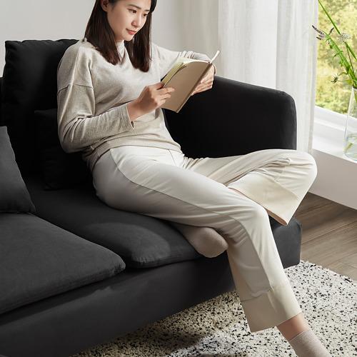 SÖDERHAMN - 小型三座位梳化套, Samsta 深灰色 | IKEA 香港及澳門 - PE817447_S4