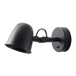 SKURUP - wall lamp, wired-in installation, black | IKEA Hong Kong and Macau - PE722003_S3
