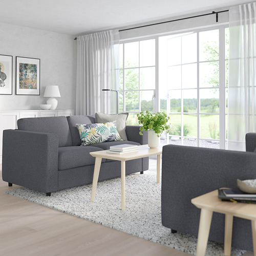 VIMLE - 2-seat sofa-bed, Gunnared medium grey   IKEA Hong Kong and Macau - PE763189_S4