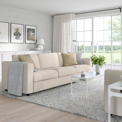 VIMLE - 三座位梳化, Gunnared 米黃色 | IKEA 香港及澳門 - PE763195_S4