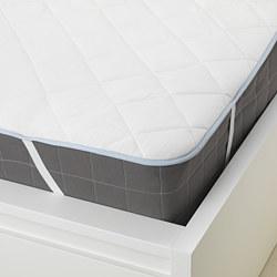 KLEINIA - 特大雙人床褥保護套, 白色 | IKEA 香港及澳門 - PE648203_S3