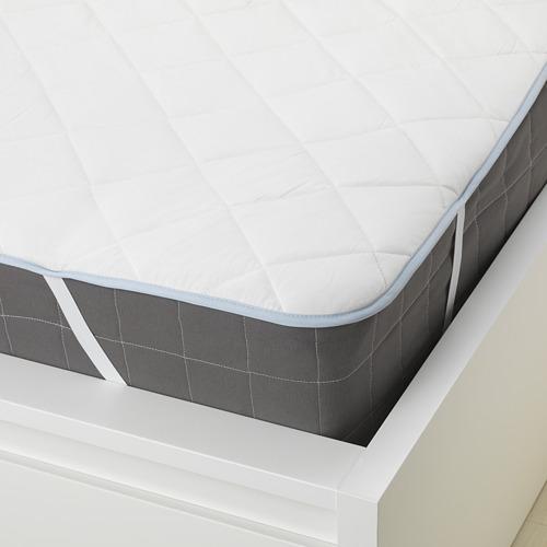 KLEINIA - 雙人床褥保護套, 白色 | IKEA 香港及澳門 - PE648203_S4
